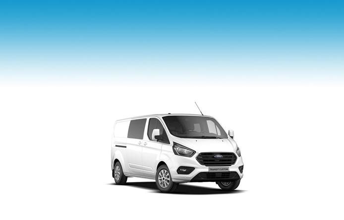 NEW MODEL FORD TRANSIT CUSTOM 320 L1 DIESEL FWD 2.0 TDCi 130ps Low Roof D/Cab Ltd Van