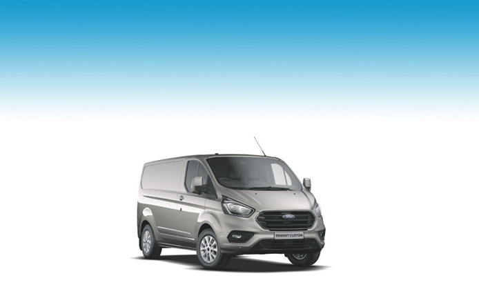 TRANSIT CUSTOM 300 L2 DIESEL FWD 2.0 TDCi 130ps Low Roof Van -1 Stock Vehicle - Immediate Delivery