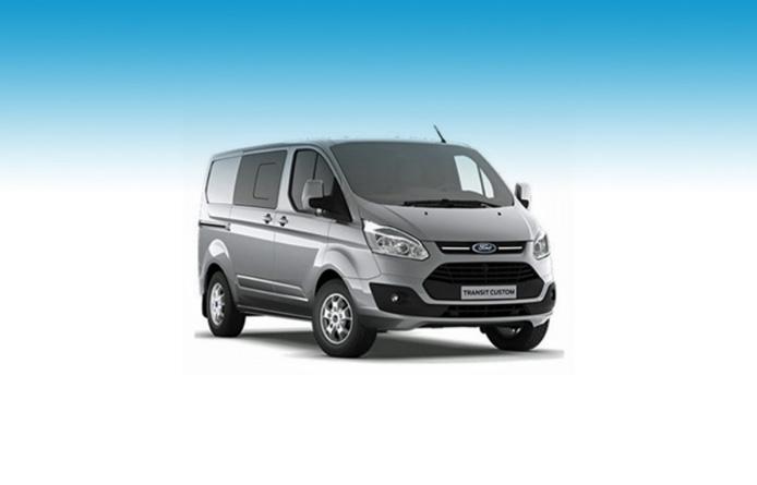 FORD TRANSIT CUSTOM 290 L1 DIESEL FWD 2.0 TDCi 130ps Low Roof D/Cab Limited Van