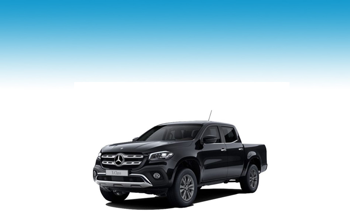 MERCEDES-BENZ X CLASS DIESEL 250d 4Matic Power Double Cab Pickup Auto