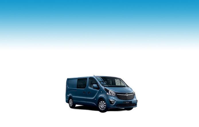 VAUXHALL VIVARO L1 DIESEL 3100 2.0d 150PS Sportive H1 D/Cab